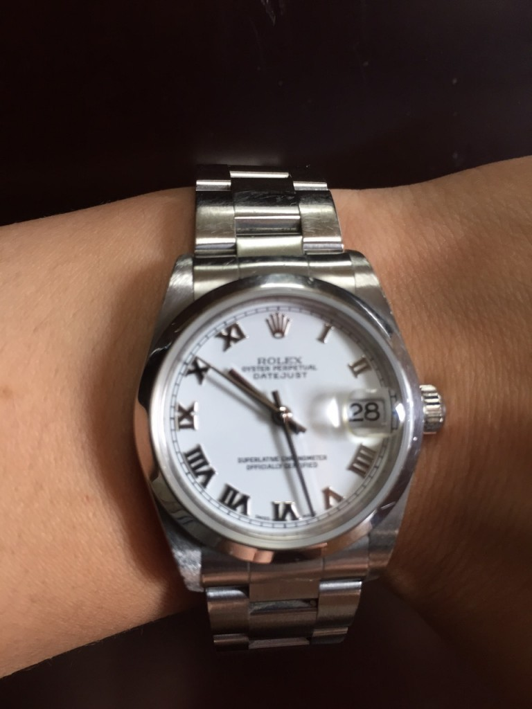ロレックス,ROLEX,腕時計,オイスターパーペチュアルデイトジャスト