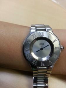 カルティエ,Cartier,マスト,腕時計