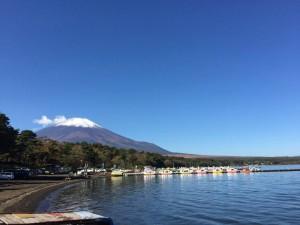 富士山,山中湖