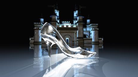 シンデレラ,ガラスの靴