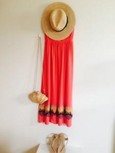 夏,ファッション,主婦