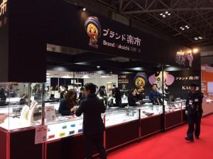 国際宝飾展,東京ビッグサイト,ブランド楽市,出展,ジュエリーシ