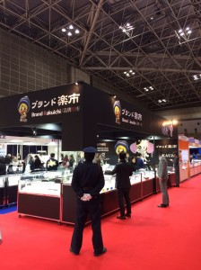 国際宝飾展,東京ビッグサイト,ブランド楽市,出展,ジュエリーショー
