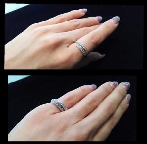 リング,ダイヤモンド,フリーサイズ,使用画像,ブランド楽市
