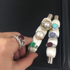 ジュエリー,宝石,貴金属,指輪,リング,エメラルド,アンテーク,ヴィンテージ,ブランド楽市