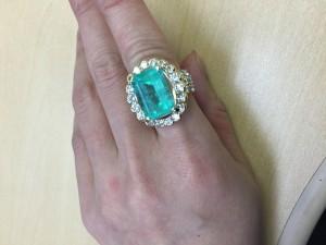 ジュエリー,宝石,貴金属,指輪,リング,エメラルド,