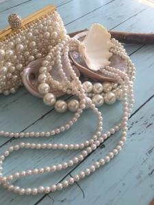 真珠,パール,フェイクパール,ネックレス,バッグ,アクセサリー