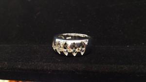 指輪,リング,プラチナ,pt900,ダイヤモンド,メレ,高価買取,ブランド 楽市