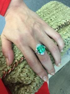 アンティーク,ジュエリー,指輪,リング,エメラルド,ダイヤモンド,プラチナ,宝石,貴金属,買取,販売,専門店,ブランド楽市
