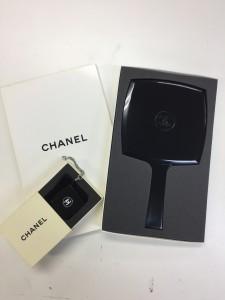 シャネル,CHANEL,ノベルティー,非売品,手鏡,携帯ストラップ,ブランド楽市