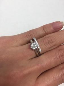 宝石,貴金属,指輪,リング,新品仕上げ加工,プラチナ,ダイヤモンド,ブランド楽市