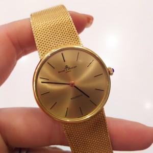 腕時計,金無垢,K18,750,ボーム&メルシエ,高価買取,ブランド楽市