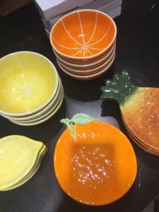 皿,フルーツ,果物,夏,