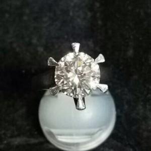 ダイヤモンド,宝石,指輪,リング,高価買取,1ctオーバー,立て爪,ブランド楽市