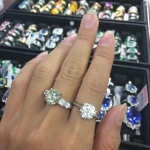 リフォーム,ダイヤモンド,リング,指輪,立て爪,吉祥寺店,赤羽店,駒沢店,貴金属,宝石,専門店,ブランド楽市
