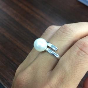 真珠,パール,指輪,リング,古い,リフォーム,駒沢店,ブランド楽市
