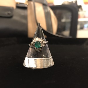 エメラルド,指輪,リング,ダイヤモンド,買取,駒沢店