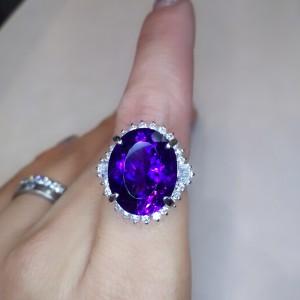 アメシスト,宝石,ジュエリー,紫水晶,ブランド楽市,買取,販売