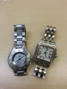 カルティエ,Cartier,腕時計,電池交換,ブランド楽市
