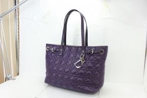 クリスチャン・ディオール,Christian Dior,紫,トートバッグ,ブランド楽市