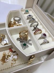 宝石箱,ジュエリーケース,指輪,リング,買取,ブランド楽市