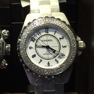 シャネル,CHANEL,ブランド,腕時計,J12,ダイヤモンド,ホワイト,白,セラミック,ブランド楽市,買取強化,吉祥寺店