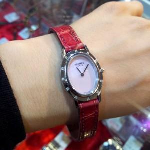 エルメス,HERMES,クリッパー・オーバル,腕時計,レディース,ブランド楽市,買取,販売