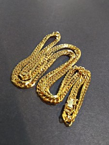 貴金属,金,喜平,ネックレス,買取,高価買取,ゴールド,GOLD,6面カット,ブランド楽市