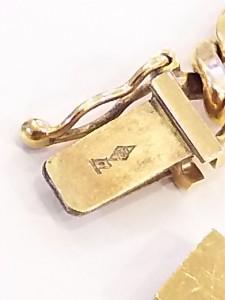 貴金属,金,刻印,ホールマーク,造幣局,750,日本国旗,K18,買取,ブランド楽市