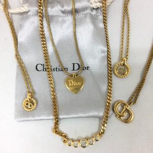 クリスチャンディオール,Christian Dior,ネックレス,宅配買取,断捨離,ブランド楽市