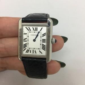 電池交換,カルティエ,Cartier,タンクソロ,腕時計,ブランド楽市