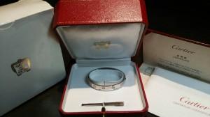 カルティエ,Cartier,ブレスレット,LOVE,ラブコレクション,ビスモチーフ,人気,買取,ブランド楽市,赤羽店
