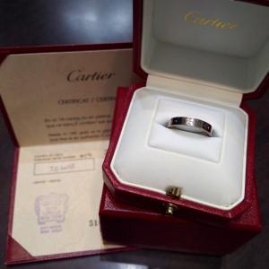 カルティエ,Cartier,指輪,リング,LOVE,ラブコレクション,ビスモチーフ,人気,買取,ブランド楽市,吉祥寺店