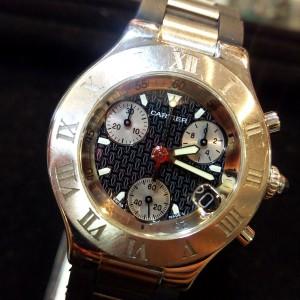 カルティエ,Cartier,クロノスカフ,腕時計,男性,メンズ,イケダン,人気,ブランド楽市