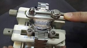 腕時計,電池交換