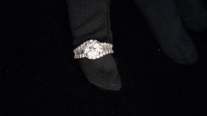 指輪,リング,ダイヤモンド,1.01ct,テーパーカット,プラチナ,買取,ブランド楽市,駒沢店