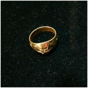 指輪,リング,K18,買取,イエローゴールド,ダイヤモンド,ブランド楽市,赤羽店