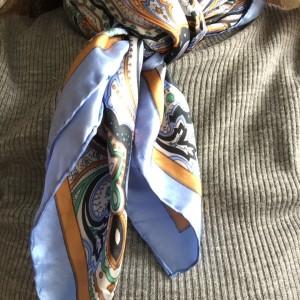 スカーフ,ファッション,アレンジ