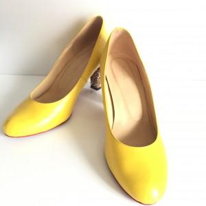 ファッション,春,黄色,靴,シューズ,パンプス