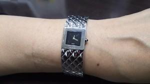 シャネル,CHANEL,腕時計,ブランド,マトラッセ,ステンレス,鑑定士,バイヤー,私物,ブランド楽市,アンテウス