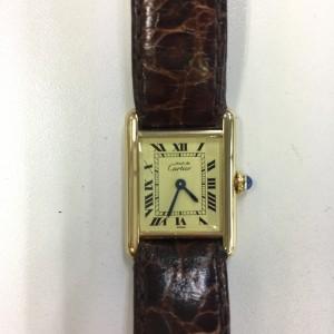 カルティエ,Cartier,マストタンク,電池交換,駒沢店,腕時計,ブランド楽市
