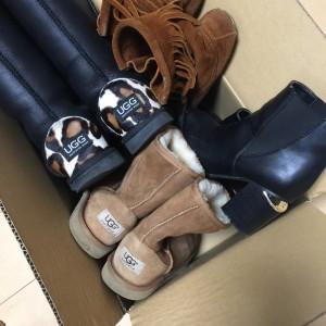 ブーツ,靴,シューズ,アグ,UGG,ムートンブーツ,ミネトンカ,フリンジブーツ,ショートブーツ,宅配買取,ブランド楽市