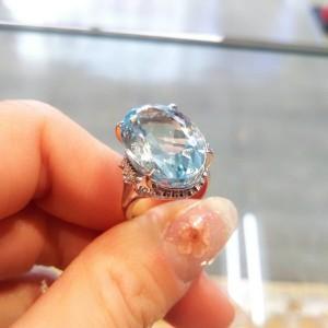 アクアマリン,Aquamarine,3月,誕生石,宝石,パワーストーン,海,ブルー,ブランド楽市