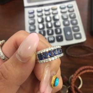 サファイヤ,Sapphire,宝石,貴金属,ジュエリー,指輪,リング,プラチナ,査定,鑑定,資産価値,ブランド楽市