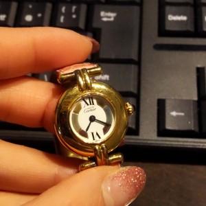 カルティエ,Cartier,腕時計,電池交換,クォーツ,ブランド楽市,吉祥寺店