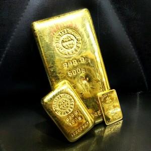 金,インゴット,ゴールド