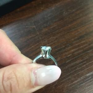 ダイヤモンド,指輪,リング,立て爪,宝石,貴金属,ジュエリー,リフォーム,リメイク,作り直し,ブランド楽市,駒沢店