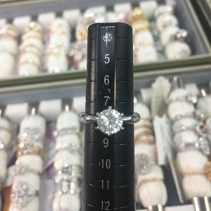 ダイヤモンド,リフォーム,サイズ直し,立爪,指輪,リング,ダイヤモンド,宝石,貴金属,ブランド楽市,吉祥寺