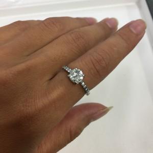 リフォーム,サイズ直し,立爪,指輪,リング,ダイヤモンド,宝石,貴金属,ブランド楽市,吉祥寺店