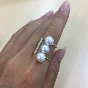 パール,真珠,宝石,貴金属,指輪,リング,ブランド楽市,吉祥寺店